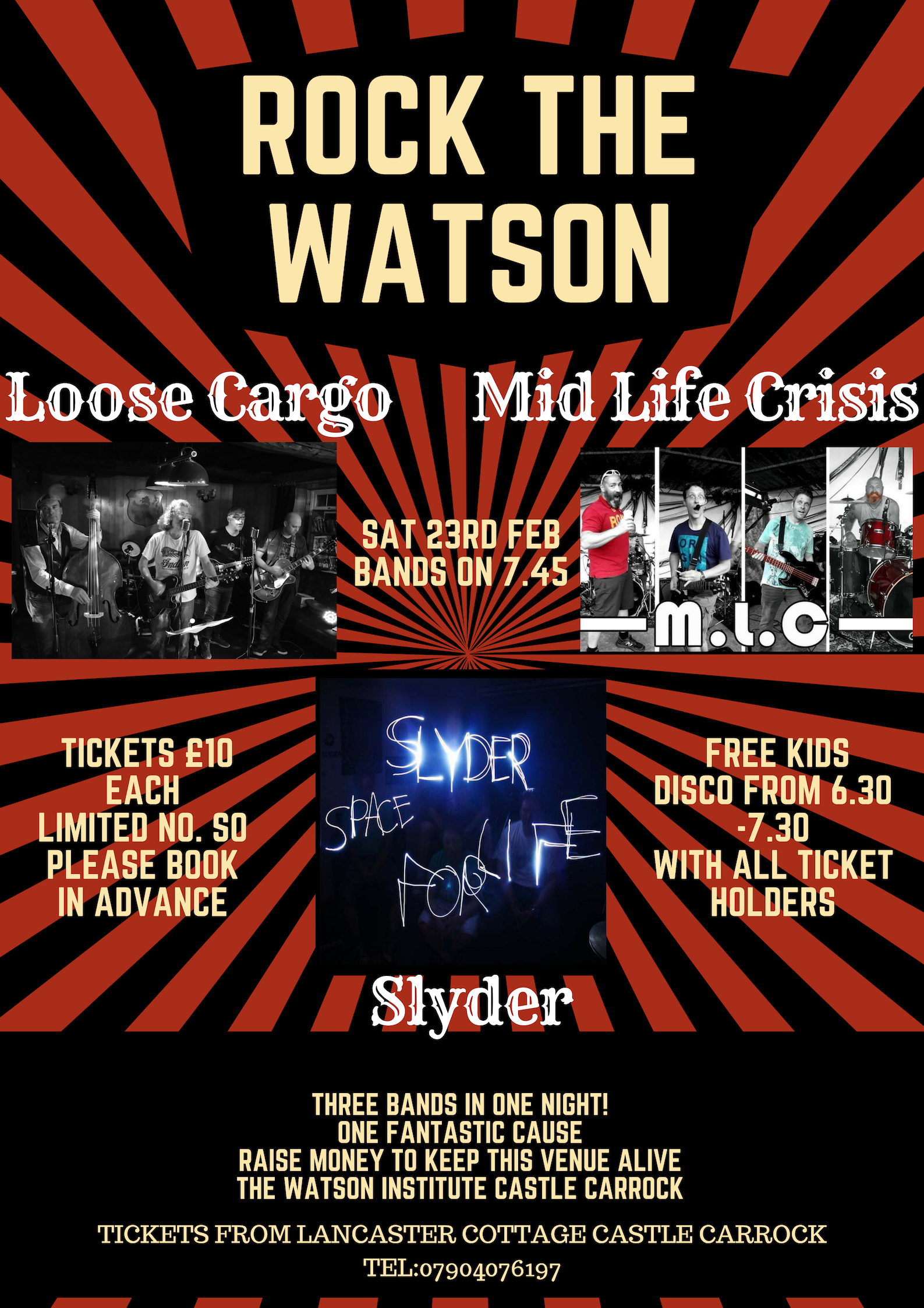 Rock The Watson on Saturday February 23rd